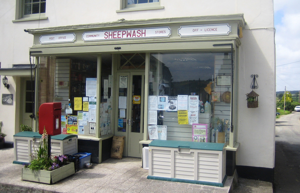 office the shop. The Sheepwash Community Shop And Post Office